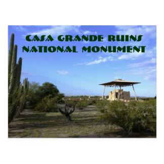 Casa-große Ruine-Postkarte Postkarte