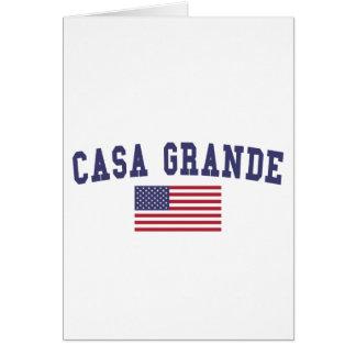 Casa große US-Flagge Karte