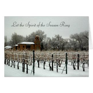 Casa Rodena Weinkellerei im Winter Karte