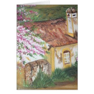 Casa Rústica - óleo - 55x46 Karte