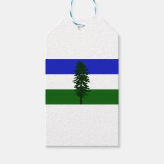 Cascadia Flagge Geschenkanhänger