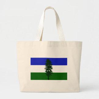Cascadia Flagge Jumbo Stoffbeutel