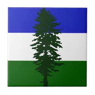 Cascadia Flagge Keramikfliese