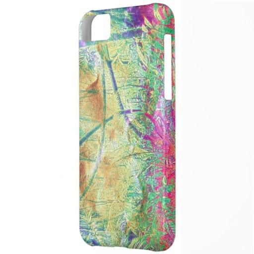 Case-MateVibe iPhone 5 Fallrosa Blumendschungel iPhone 5C Schale