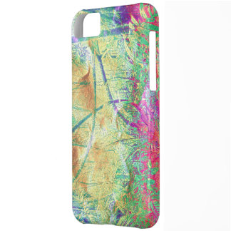 Case-MateVibe iPhone 5 Fallrosa Blumendschungel iPhone 5C Hülle