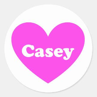 Casey Runder Aufkleber