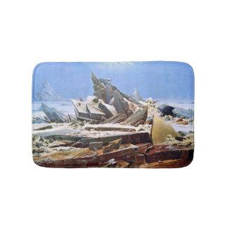 CASPAR DAVID FRIEDRICH - das Meer von Eis 1824 Badematte