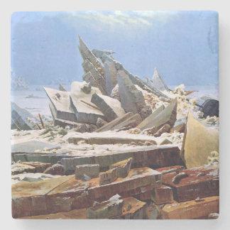 CASPAR DAVID FRIEDRICH - das Meer von Eis 1824 Steinuntersetzer
