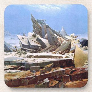CASPAR DAVID FRIEDRICH - das Meer von Eis 1824 Untersetzer