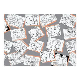 Casper-Comicen 12,7 X 17,8 Cm Einladungskarte
