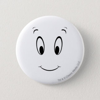 Casper-Smiley Runder Button 5,7 Cm