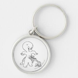 Casper-Sprungs-Frosch Schlüsselanhänger