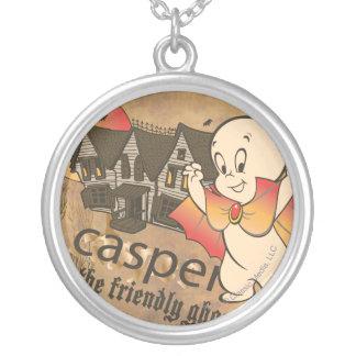 Casper und Spuk Haus Versilberte Kette