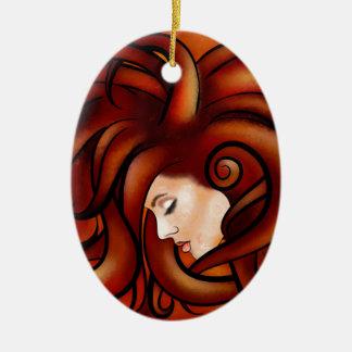 Cassandrina V1 - jellyhair Keramik Ornament