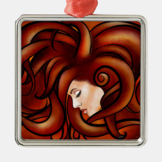 Cassandrina V1 - jellyhair Silbernes Ornament