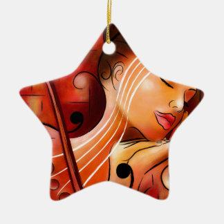 Casselopia - Violinentraum Keramik Ornament