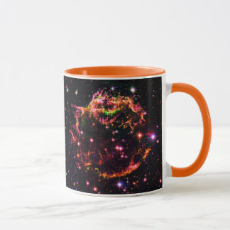 Cassiopeia ein Nebelfleck-Supernova-Rest-Raum-Foto Tasse