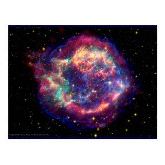 Cassiopeia ein Supernova-… Tod steht ihr Postkarte