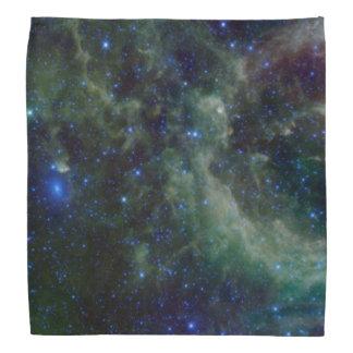Cassiopeianebelfleck innerhalb der Milchstraße-Gal Halstuch
