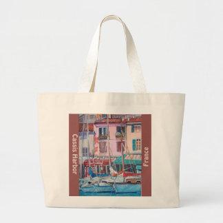 Cassis Hafen - Taschen-Tasche