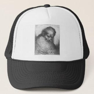 Castiglione - Kopf eines bärtigen alten Mannes Truckerkappe