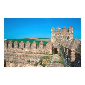 Castillo de Las Aguzaderas ist ein Schloss mit a Fotografische Drucke