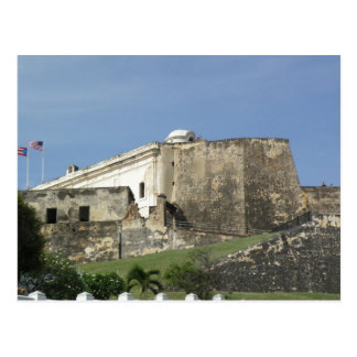 Castillo San Cristobal Postkarte