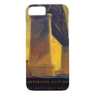 Castleton schnitt Vintages Plakat New York ab iPhone 8/7 Hülle