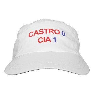 Castro 0 CIA 1 Headsweats Kappe