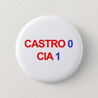 Castro 0 CIA 1 Runder Button 5,7 Cm