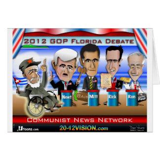 Castro Florida Debatte Karte