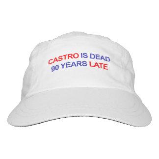 Castro ist die toten 90 Jahre spät Headsweats Kappe