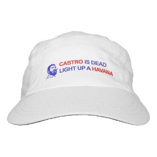 Castro ist tot. Leuchten Sie einem Havanna Headsweats Kappe