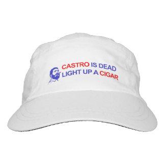 Castro ist tot. Leuchten Sie einer Zigarre Headsweats Kappe