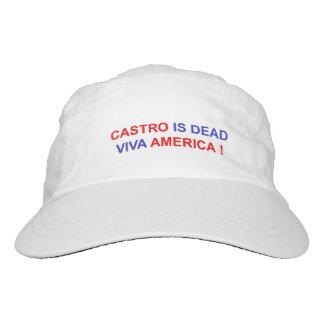 Castro ist tot. Viva Amerika! Headsweats Kappe