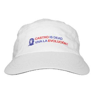 Castro ist tot. Viva La Evolución! Headsweats Kappe