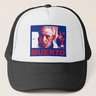 Castro muerto (Colores de Bandera cubana) Truckerkappe