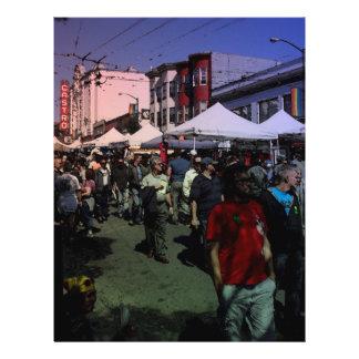 Castro Straße angemessen 21,6 X 27,9 Cm Flyer