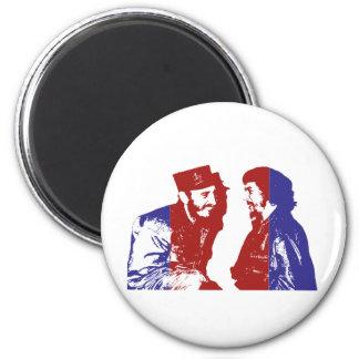 Castro und Che Runder Magnet 5,7 Cm