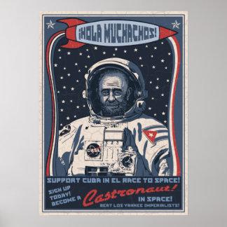 CastronautFAHRWERK Poster
