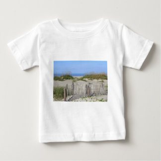 Caswell Strand, NC-Land und Meerblick Baby T-shirt