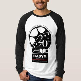 CASYM 20. langer Hülsen-T - Shirt Jahrestages