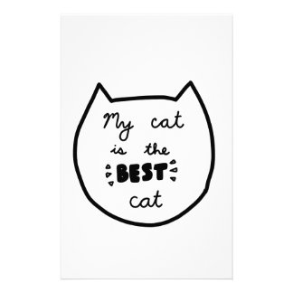 Cat-LIEBHABER-Shirts, Zusätze, Geschenke Briefpapier