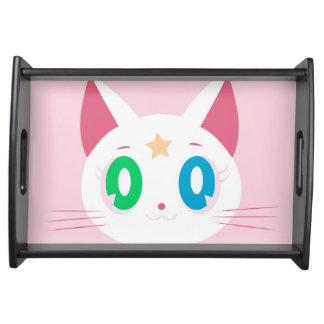 Cat Star Serviertablett