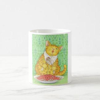 CAT und Spaghettis Kaffeetasse