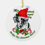 Catahoula Leopard-Hundeweihnachtsgeschenk-Verzieru Weihnachtsbaum Ornamente