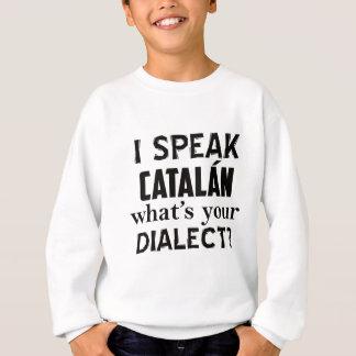 CATALÁN Sprachentwurf Sweatshirt