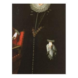Catalina de la Cerda, Herzogin von Lerma, 1602 Postkarte