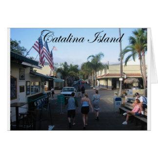 Catalina-Insel 6 Karte