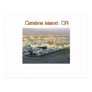 Catalina-Insel, CA Postkarte